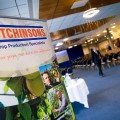Holding Exhibitions at Perth Racecourse, Scotland