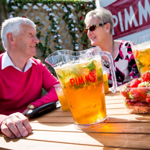 Pimm's at the Races