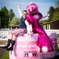 Big Pink Dress & Lawrence Cowan of Breast Cancer Now