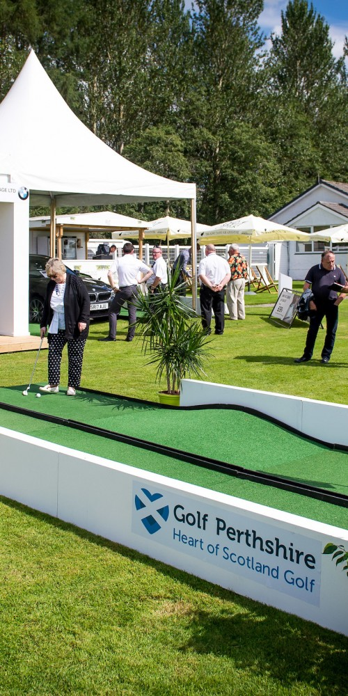 Golf Perthshire Raceday 1 August 2018